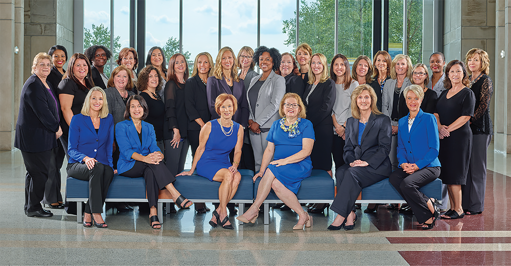Female members of Old National Bank Executive Leadership Group