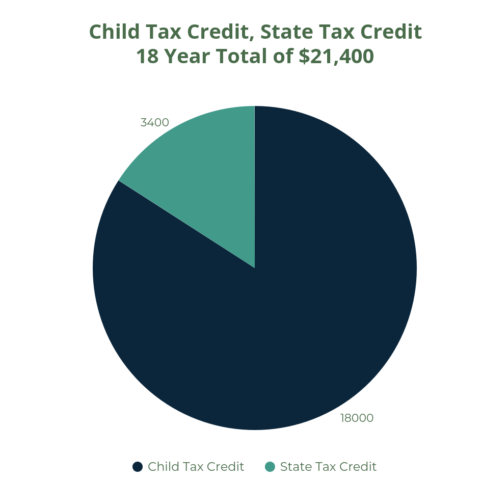 invest 1000 tax credit into 529 plan