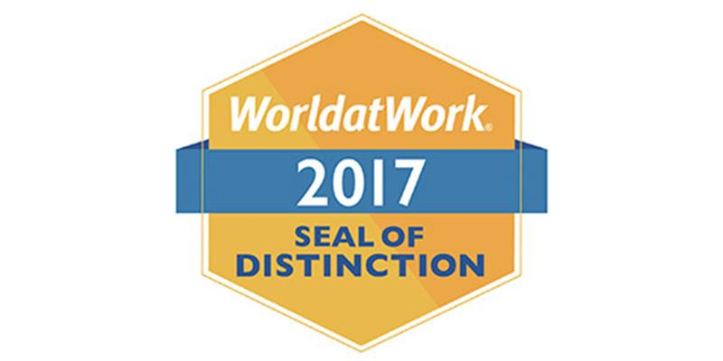 2017 WorldatWork Work-Life Seal of Distinction